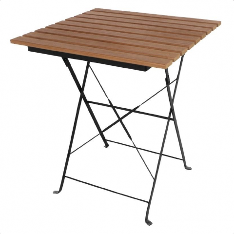 Table de terrasse pliable