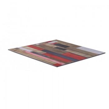 Dessus de table compact laminaat épaisseur 12mm bord incliné - Intèrieur & extérieur !