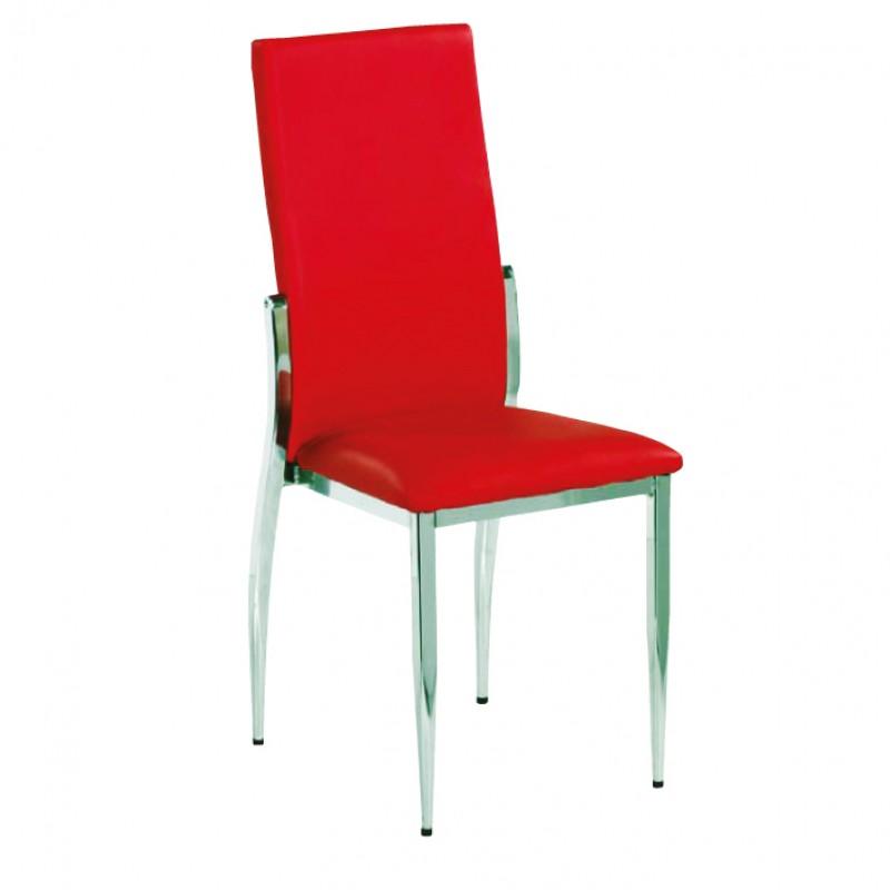 Metalen stoelen stoel universal mobilier for Stoel metalen frame