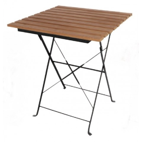 Table de terrasse pliage