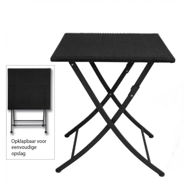 table de terrasse universal mobilier. Black Bedroom Furniture Sets. Home Design Ideas