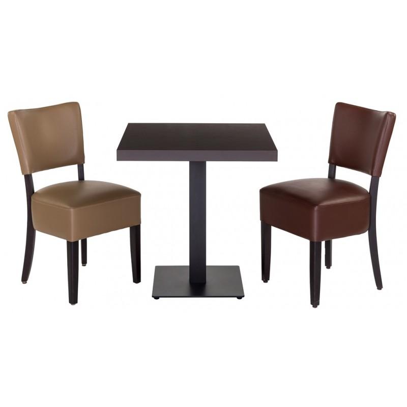 Houten stoel universal mobilier - Houten tafel en stoel ...
